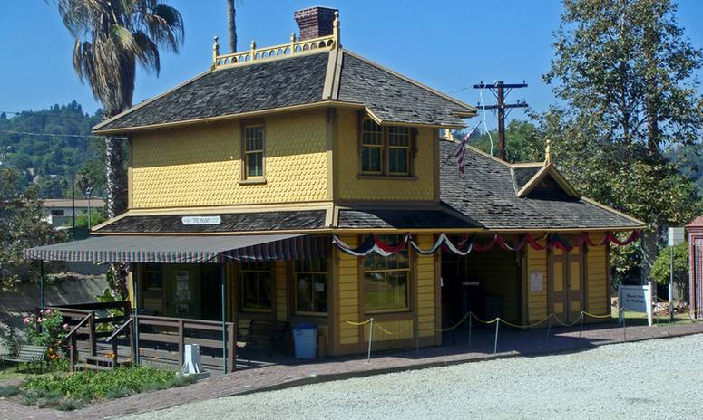 Southern Pacific Railroad Depot, Heritage Square Museum