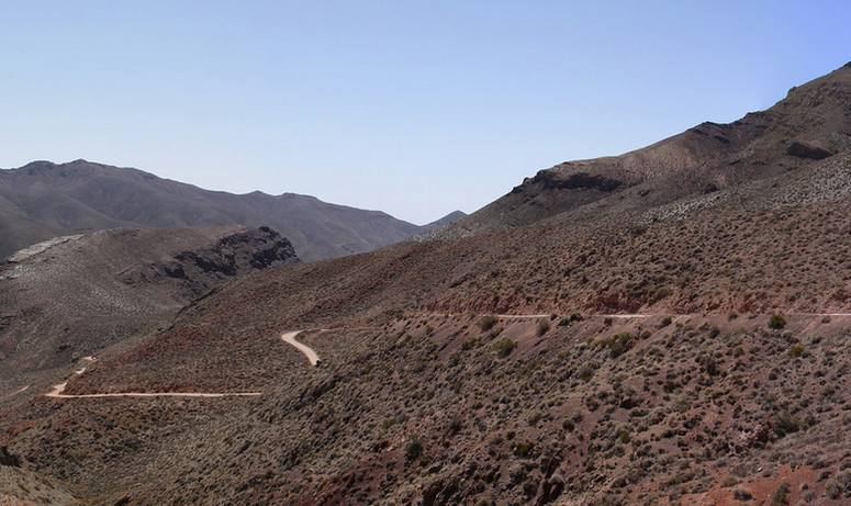 Titus Canyon Road Red Pass