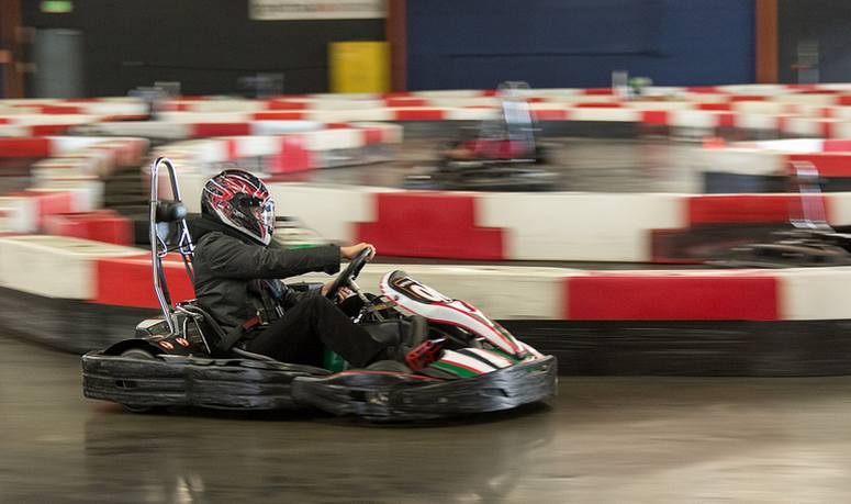 Southern California Indoor Go Kart Racing