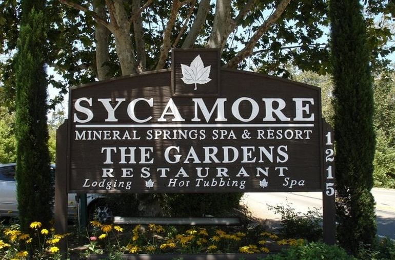 Sycamore Springs Main Entrance