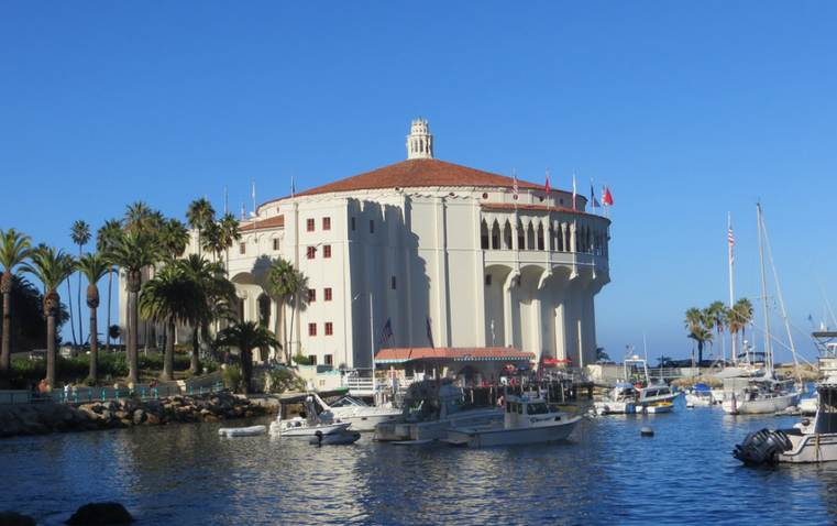 Catalina Island Casino Southern California Historic Places