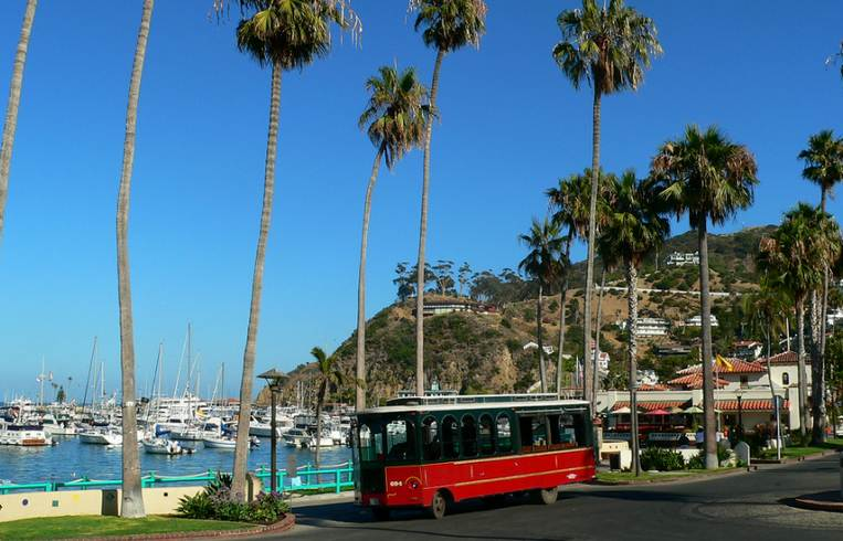 Catalina Island Trolley