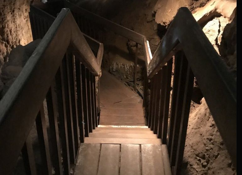 Entrance into the Cavern