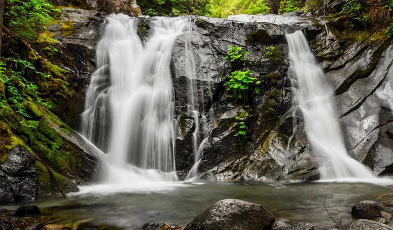 Crystal Creek Falls Whiskeytown National Recreation Area