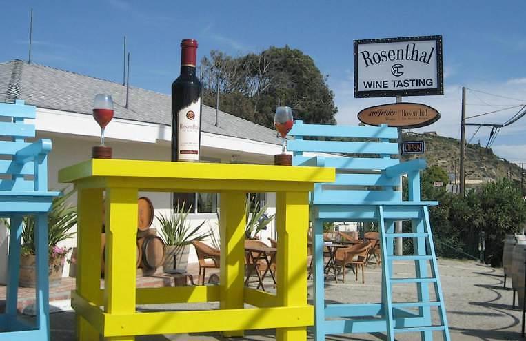 Rosenthal Estate Wine Tasting Room Malibu Beach