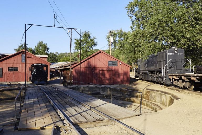 Railtown 1897 State Historic Turntable and workshops