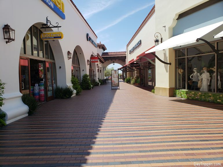 Interior View Outlet Mall