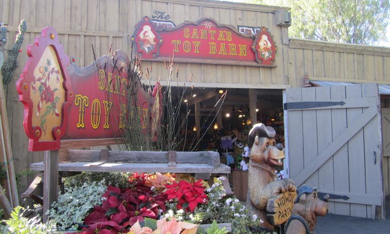 Knott's Christmas Crafts Village Santa's Toy Barn
