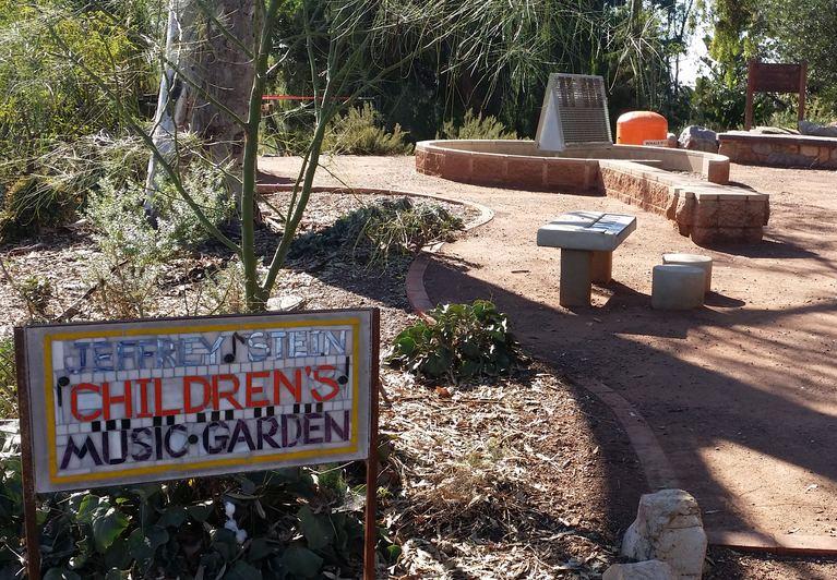 Jeffrey Stein Children's Music Garden