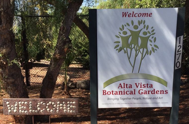 Alta Vista Botanical Gardens Entrance
