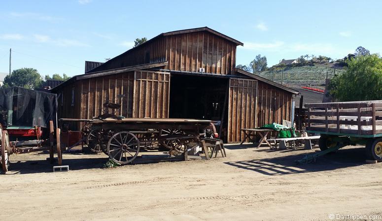 Blacksmith workshop Antique Gas & Steam Engine Museum Vista