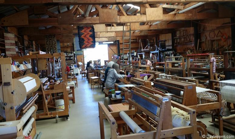Antique Gas & Steam Engine Museum Weaving Exhibit