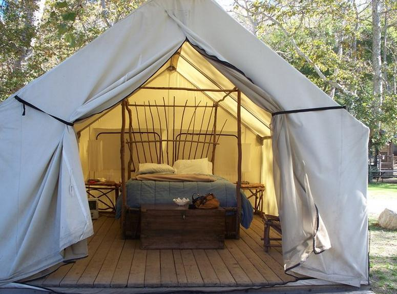 El Capitan Canyon Resort Safari Tent