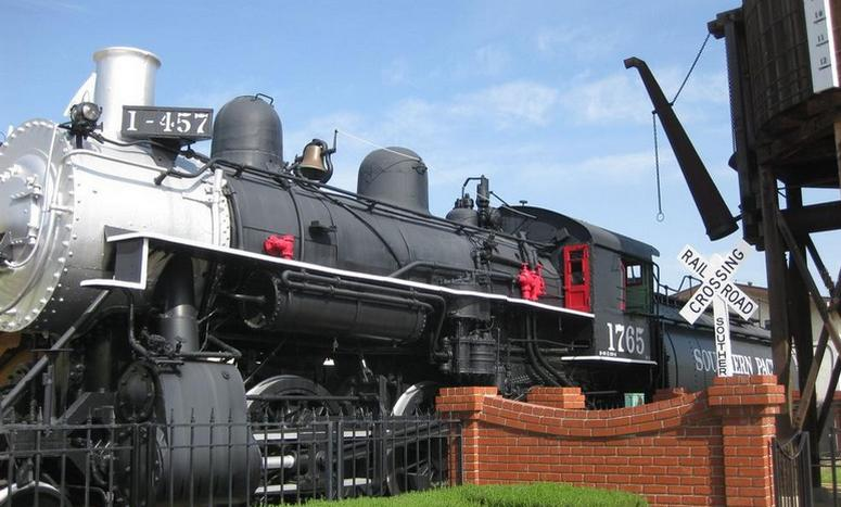 Lomita Railway Museum Steam Engine