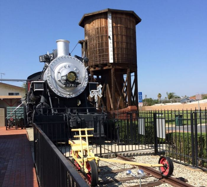 Lomita Railroad Museum Water Tower