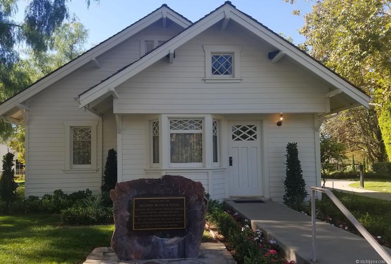 Richard Nixon Birthplace Yorba Linda CA