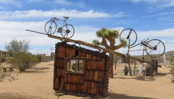 Noah Purifoy Joshua Tree Outdoor Museum