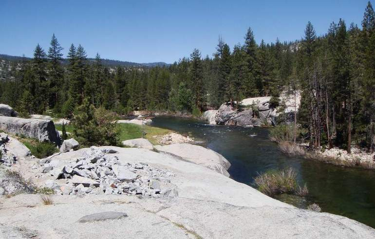 San Joaquin River Mono Hot Springs