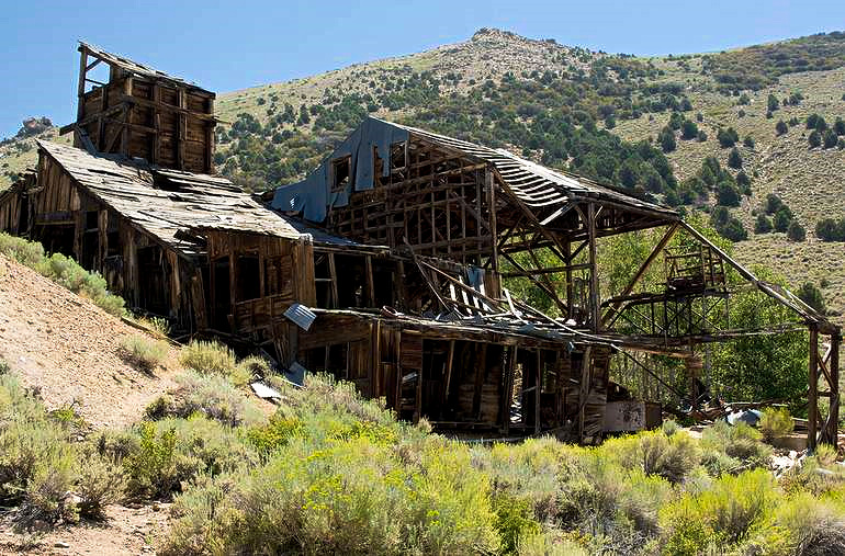 Chemung mine Northern Mono County California