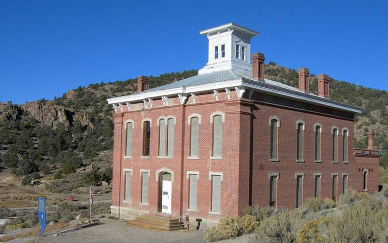 Belmont Ghost Town Courthouse