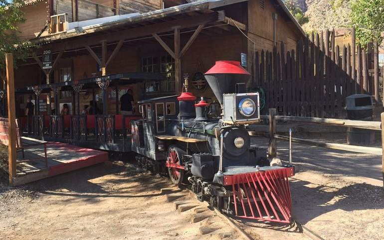 Places To Ride Trains in Nevada