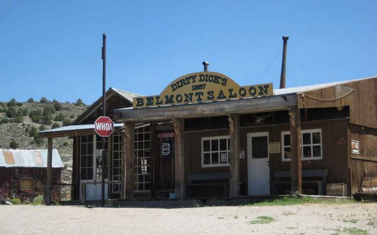 Dirty Dicks Saloon Belmont Nevada