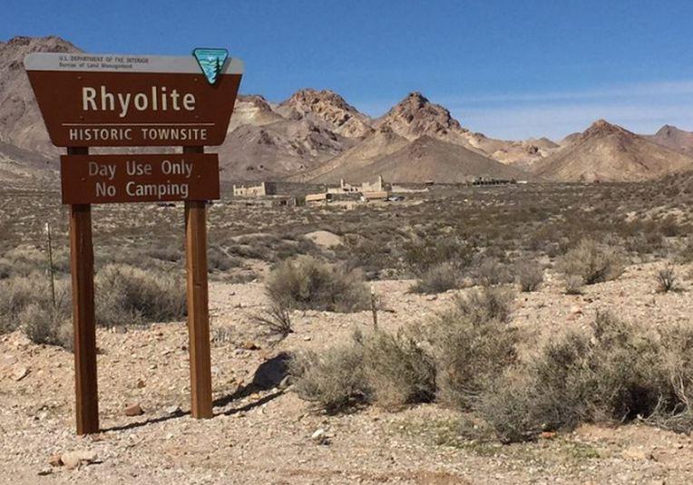 Rhyolite Historic Site Nevada