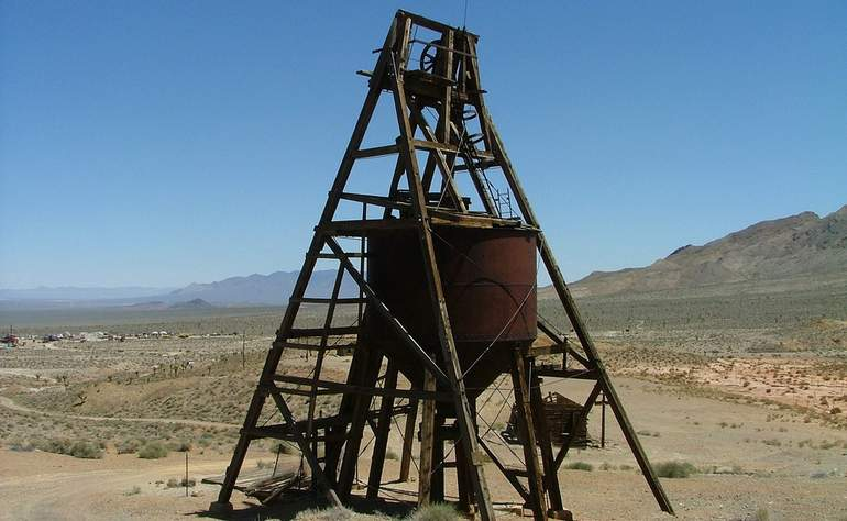 Old Mine near Gold Point Nevada