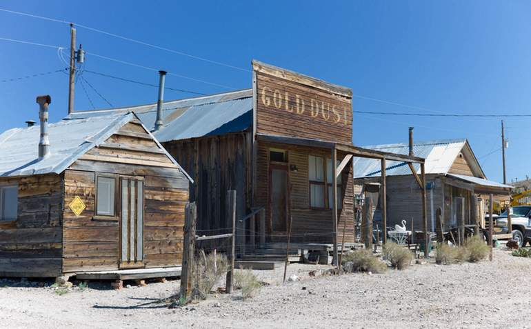 Gold Point Nevada Ghost Town
