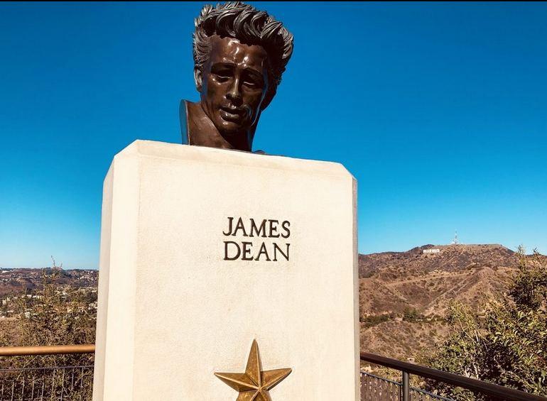 James Dean Statue Griffith Park