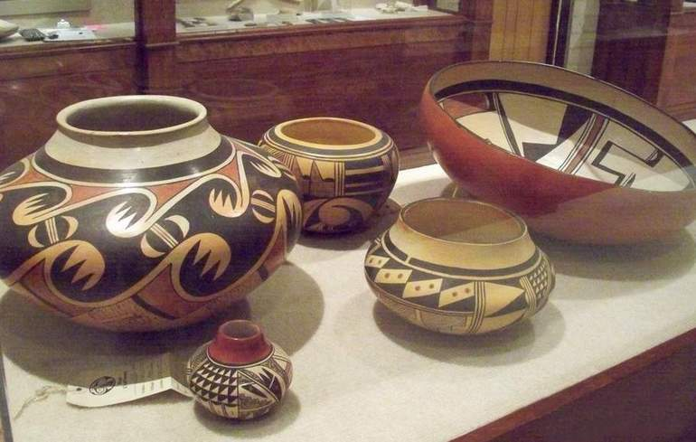 Anasazi Indian Pottery Lost City Museum
