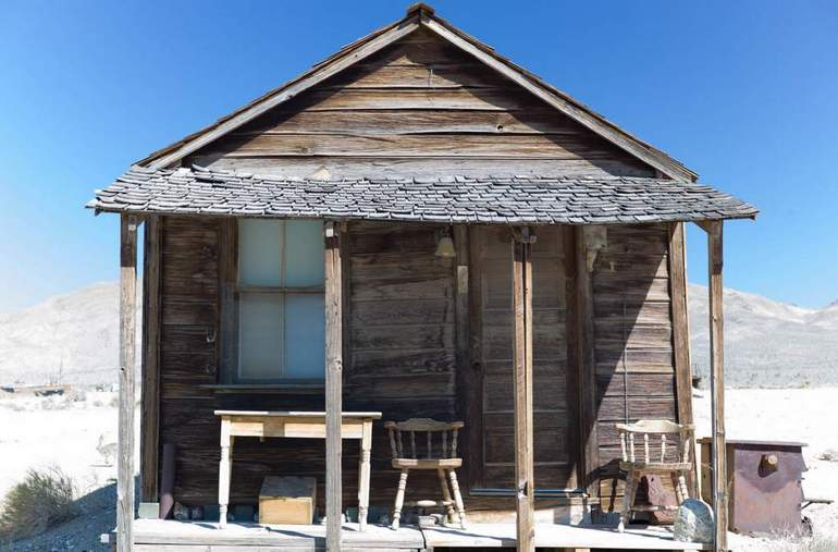 Miners Cabin Gold Point Nevada