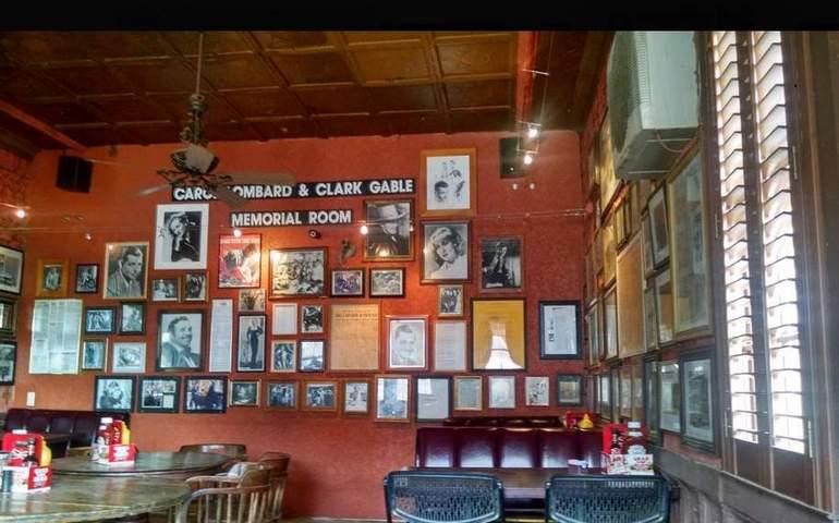 Clark Gable Carole Lombard Memorial Pioneer Saloon