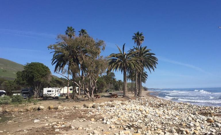 Refugio State Beach Campsites