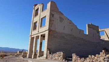 Rhyolite Ghost Town Nevada Day Trip