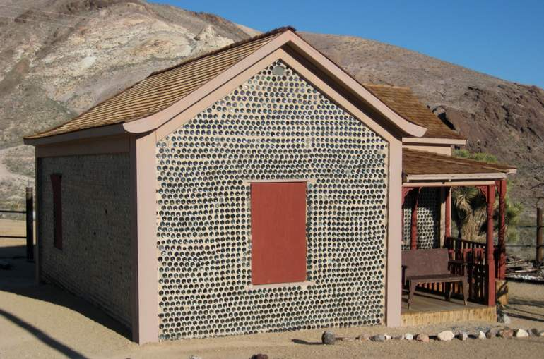 Rhyolite Ghost Town Bottle House