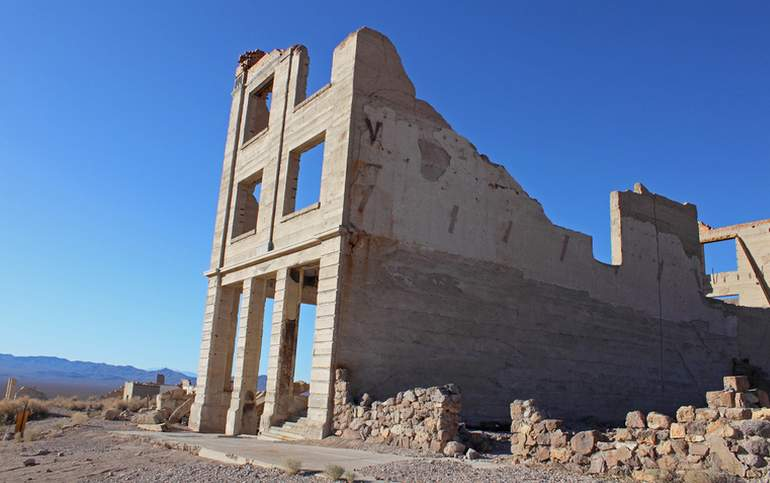 Rhyolite Ghost Town Nevada Day Trip