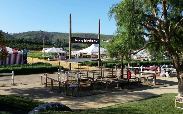 Underwood Farms Birthday Party