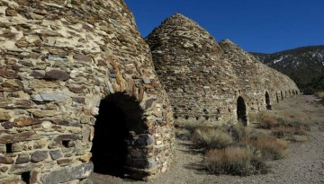 Wildrose Charcoal Kilns Death Valley Side Trip