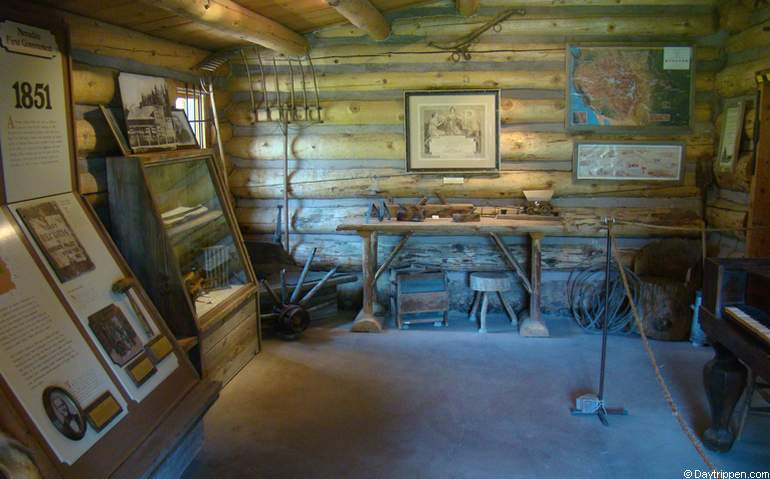 Mormon Station State Park Museum