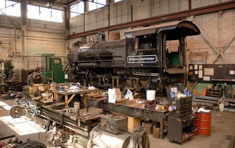 Northern Nevada Railway Machine Shop