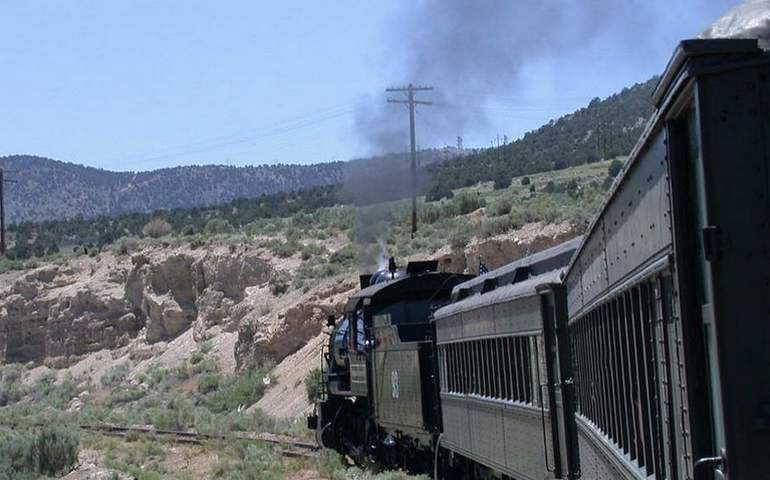 Nevada Northern Railway Train Excursion