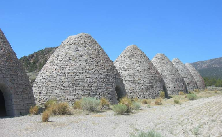 Ward Charcoal Ovens Nevada