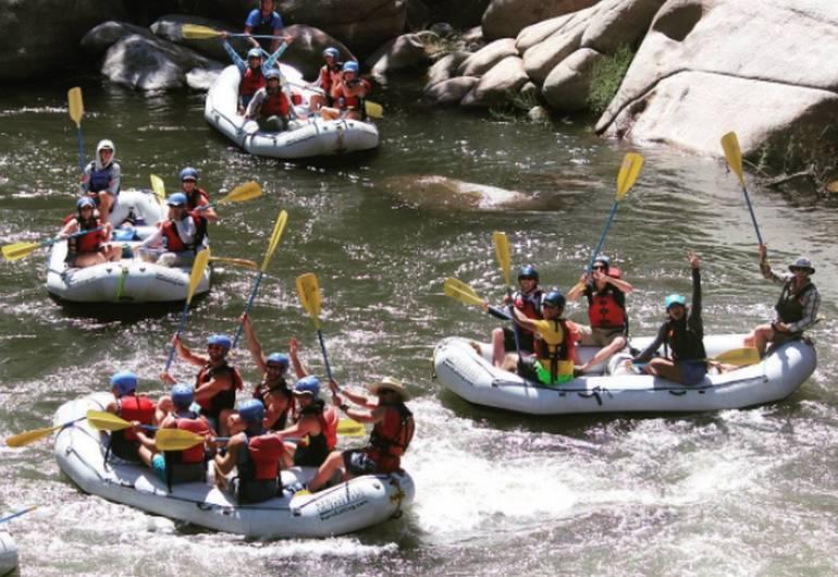 Kern River Rafting Southern California