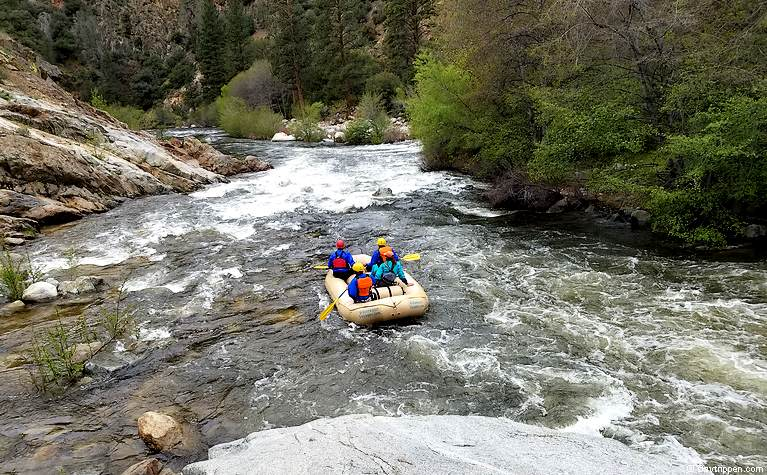Kern River White Water Rafting