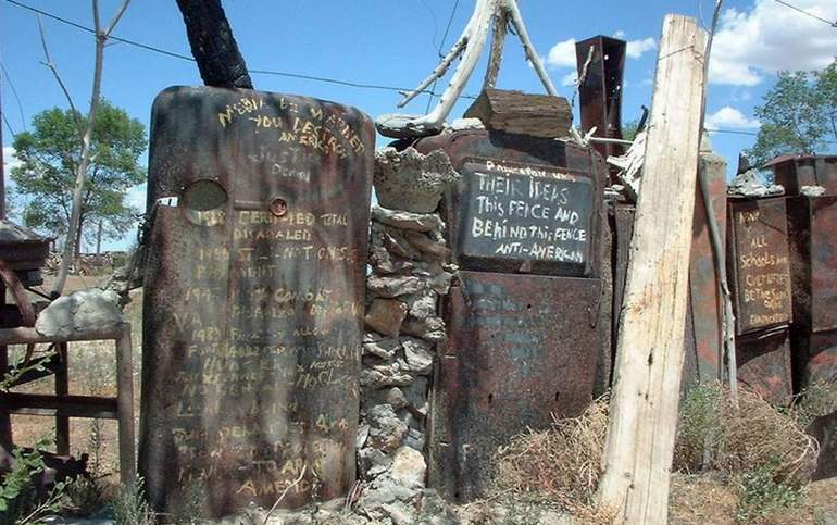 Thunder Mountain Monument Imlay Nevada