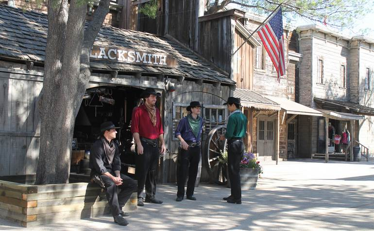 Knotts Berry Farm Ghost Town