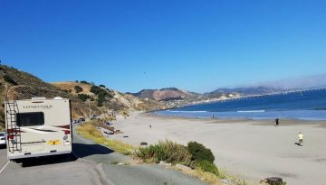 RV Camping Port San Luis Harbor