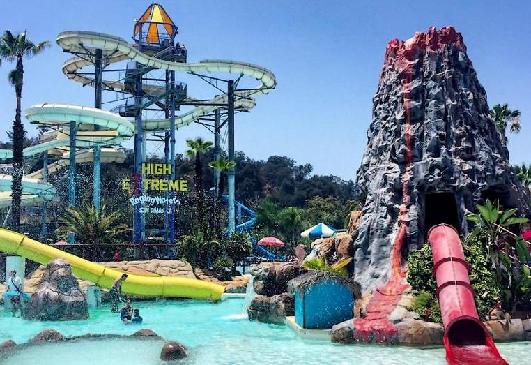 Raging Waters San Dimas Things To Do On Father's Day