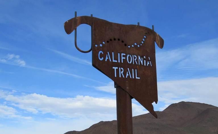 Fort Churchill Nevada California Trail